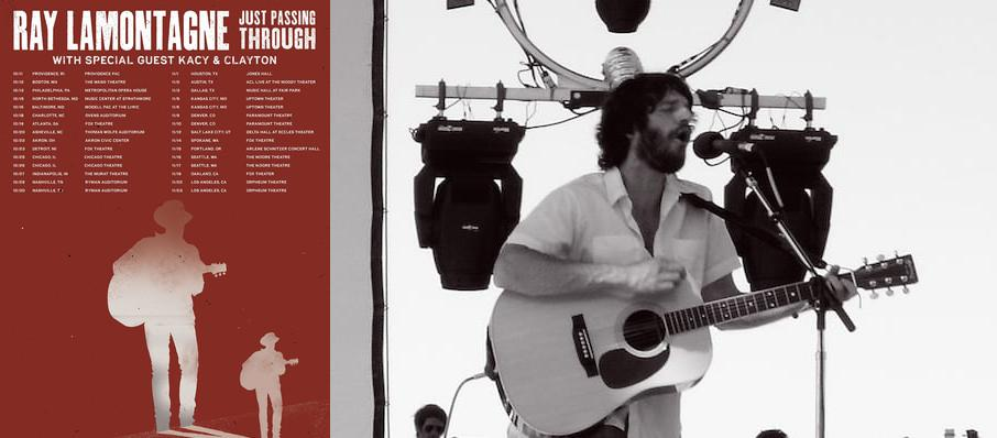 Ray LaMontagne at Arlene Schnitzer Concert Hall