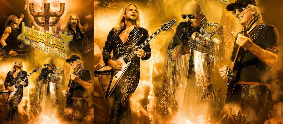 Judas Priest at Portland Memorial Coliseum