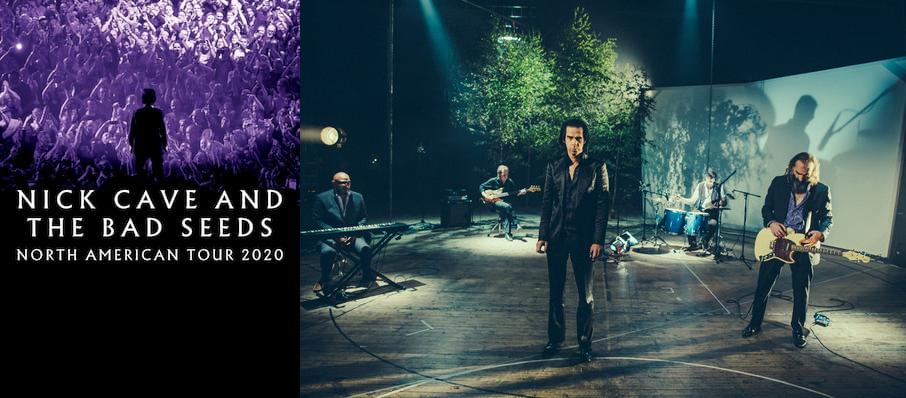 Nick Cave and The Bad Seeds at Theater of the Clouds