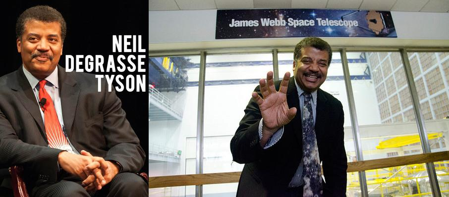 Neil DeGrasse Tyson at Arlene Schnitzer Concert Hall