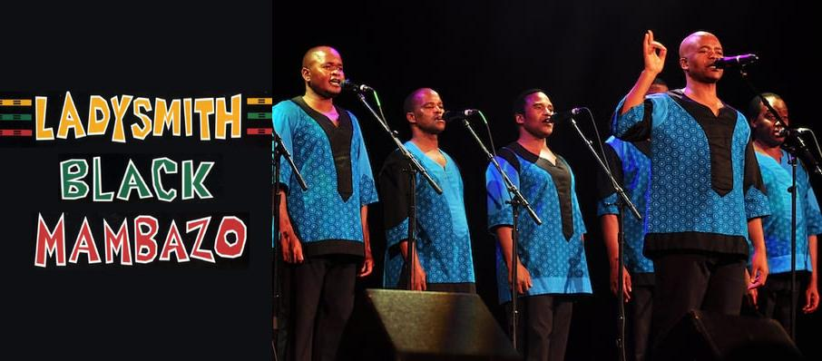 Ladysmith Black Mambazo at Aladdin Theatre