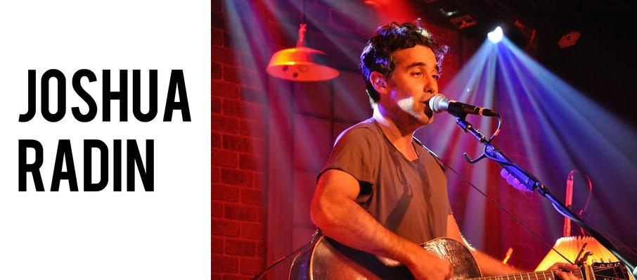 Joshua Radin at Revolution Hall