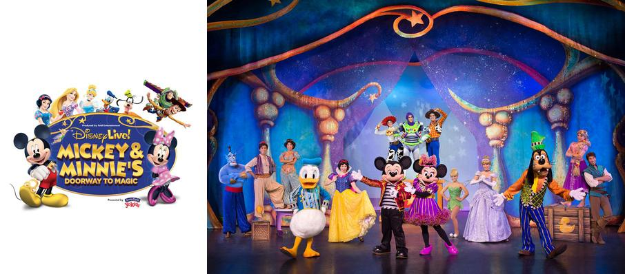 Disney Live! Mickey and Minnie's Doorway to Magic at Moda Center