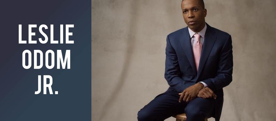 Leslie Odom Jr. at Arlene Schnitzer Concert Hall