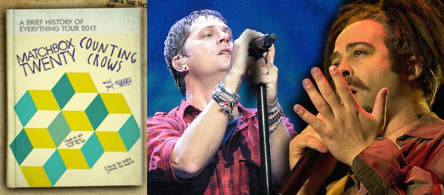 Matchbox Twenty and Counting Crows at Sunlight Supply Amphitheater