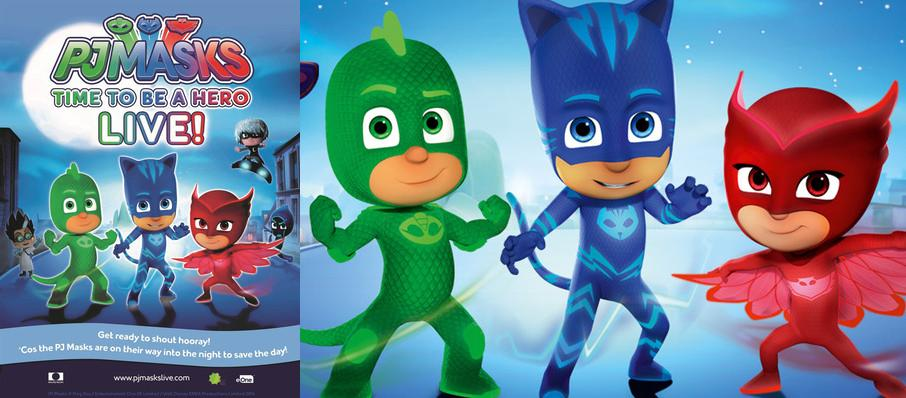 PJ Masks Live! Time To Be A Hero at Arlene Schnitzer Concert Hall
