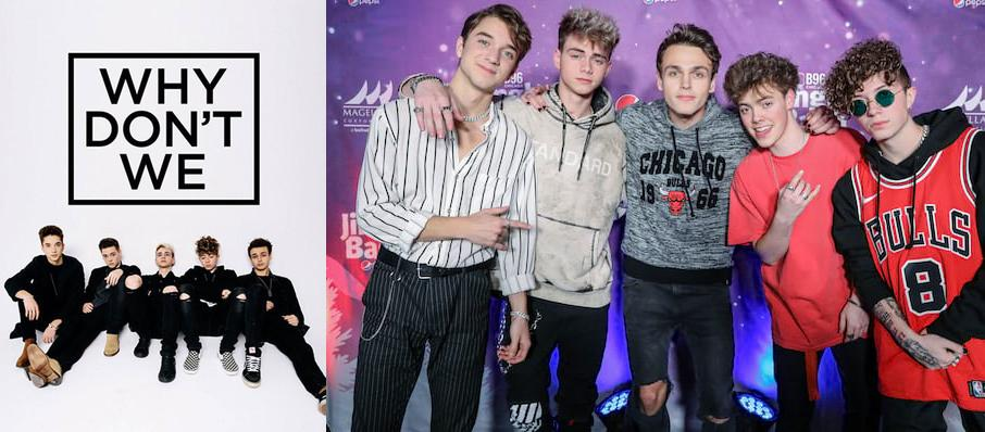Why Don't We at Arlene Schnitzer Concert Hall