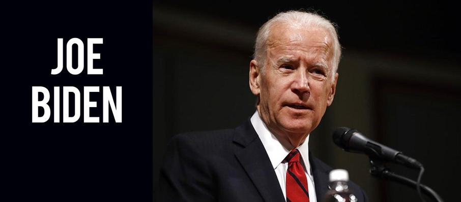 Joe Biden at Arlene Schnitzer Concert Hall