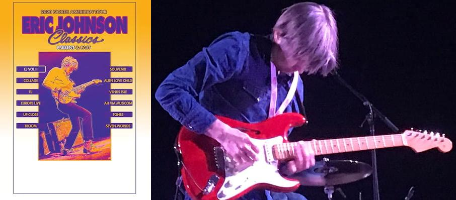 Eric Johnson at Aladdin Theatre