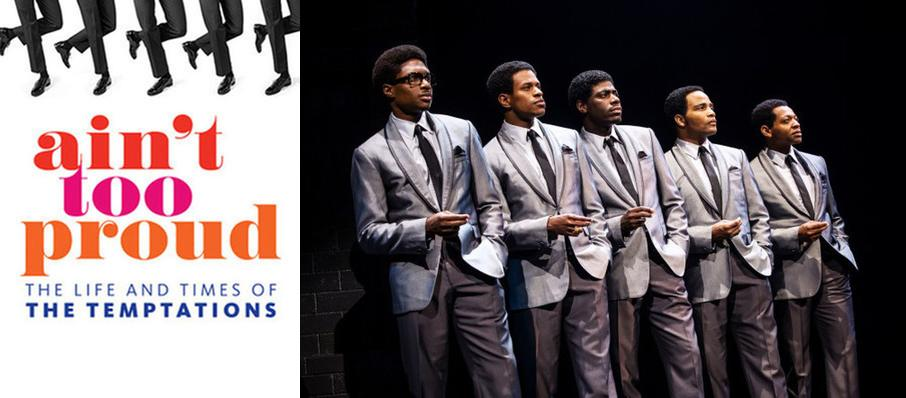 Ain't Too Proud - The Life and Times of the Temptations at Keller Auditorium
