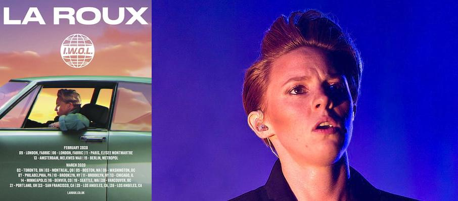 La Roux at Roseland Theater