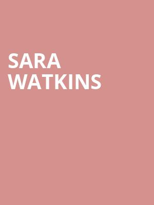 Sara Watkins at Aladdin Theatre