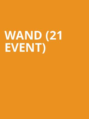 Wand (21+ Event) at Mississippi Studios