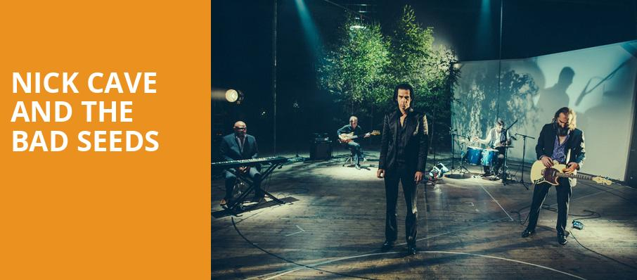 Nick Cave and The Bad Seeds, Theater of the Clouds, Portland