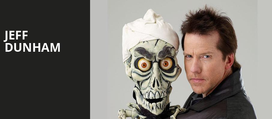 Jeff Dunham, Moda Center, Portland