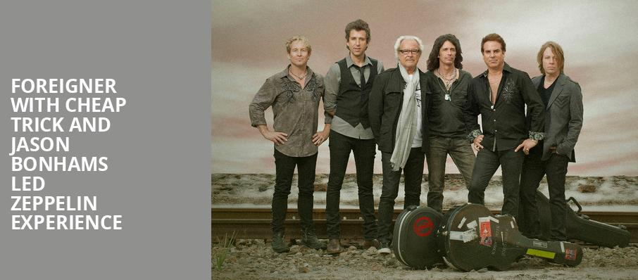 Foreigner with Cheap Trick and Jason Bonhams Led Zeppelin Experience, Sunlight Supply Amphitheater, Portland