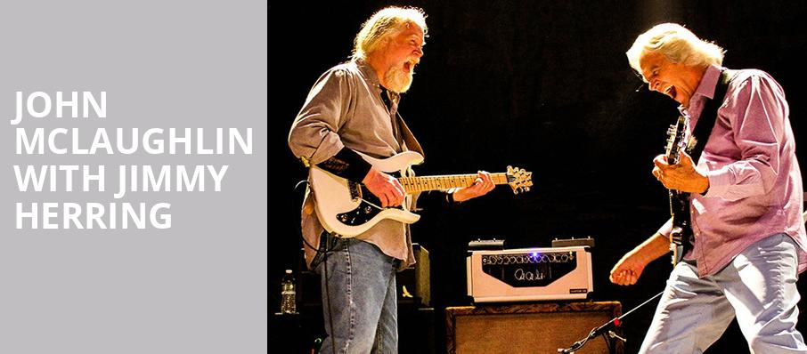 John McLaughlin with Jimmy Herring, Revolution Hall, Portland