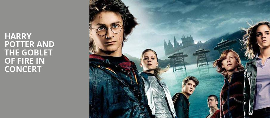 Harry Potter and the Goblet of Fire in Concert, Arlene Schnitzer Concert Hall, Portland