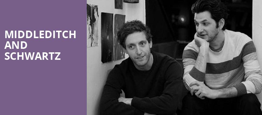 Middleditch and Schwartz, Newmark Theatre, Portland