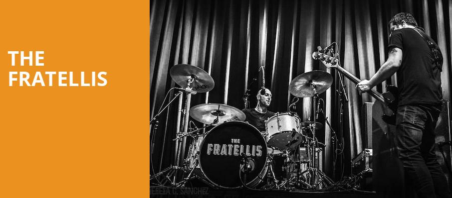 The Fratellis, Roseland Theater, Portland