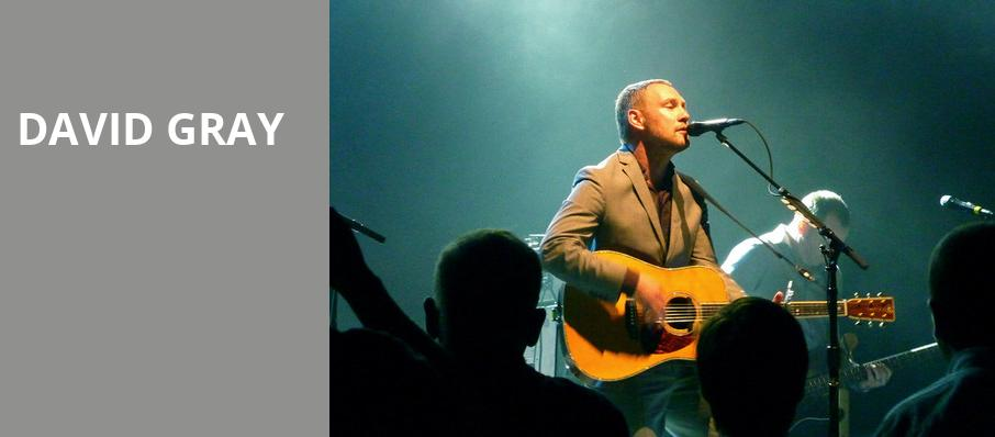David Gray, Keller Auditorium, Portland